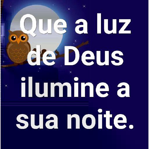 Lindas figuras de boa noite com Deus
