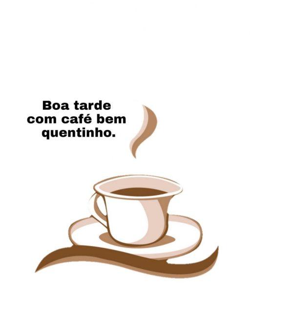 Figurinha com café