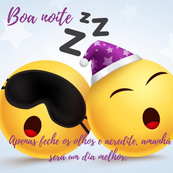 Belos emojis de boa noite