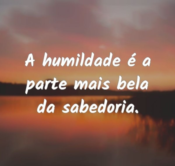mensagens sabedorias humilde
