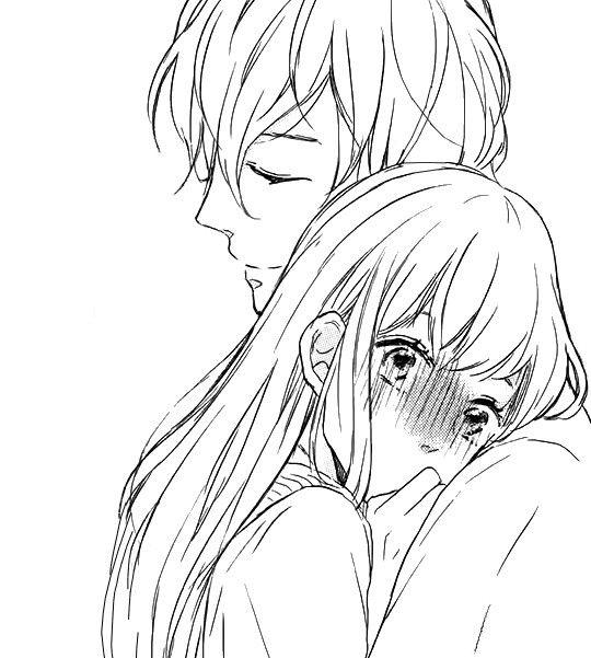 imagens de anime casal
