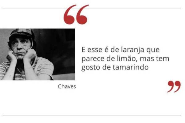 chaves Frases de humor
