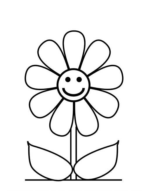 Desenhos de flores bonitas