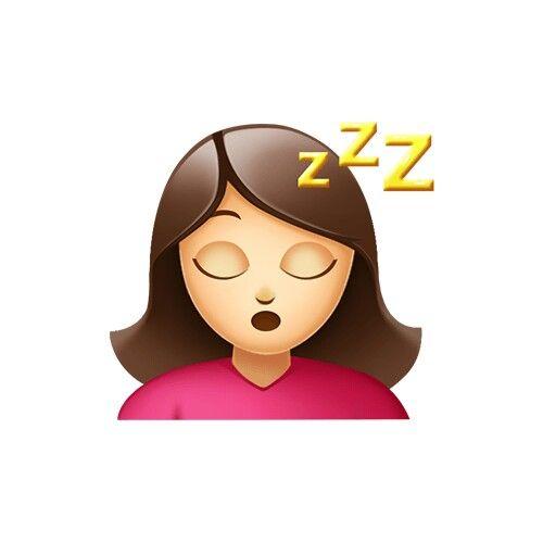 Figurinhas animadas dormindo