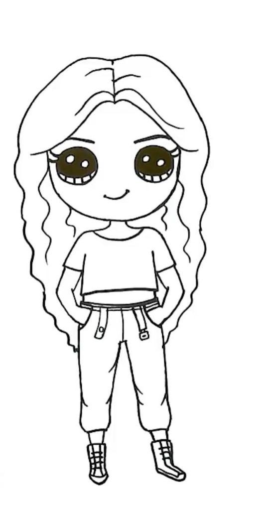 boneca kawaii linda e fofa.