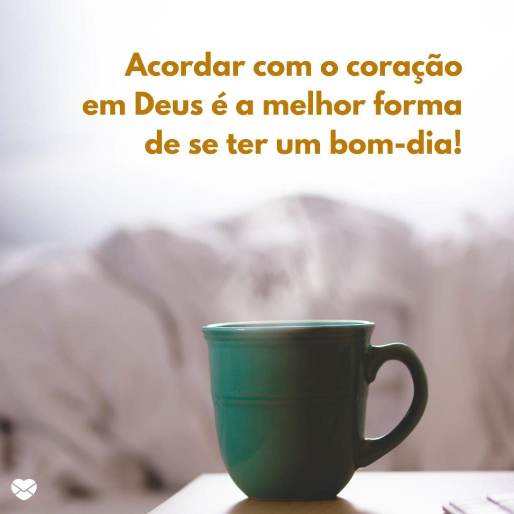bom dia com Deus e café