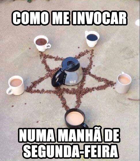 Segunda com café