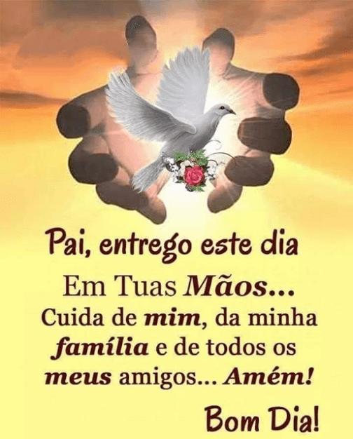 Bom dia nas mãos de Deus!