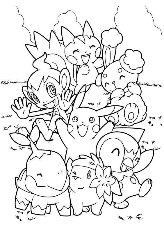 a turminha do Pokémon