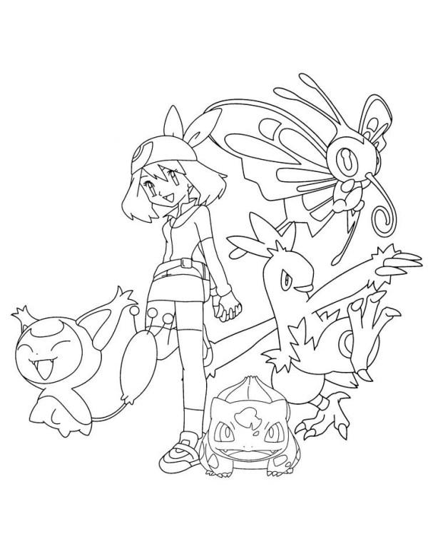 bons personagens do Pokémon