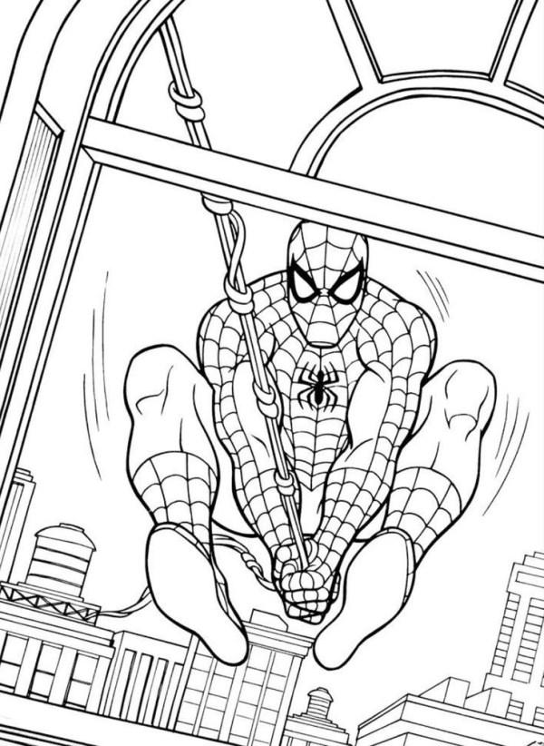Desenhos do Homem aranha chegou