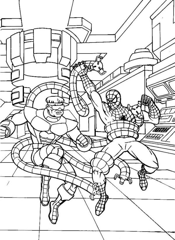 Desenhos do Homem aranha pra cima