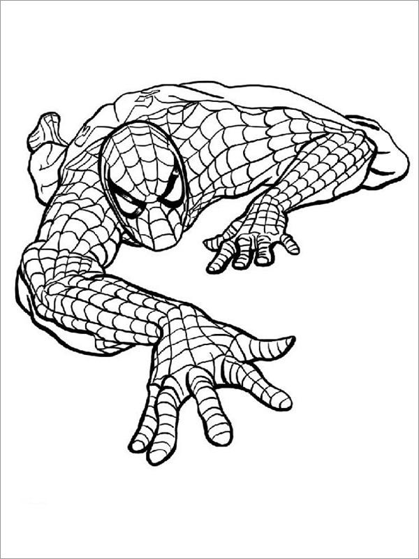 Desenhos do Homem aranha lutando
