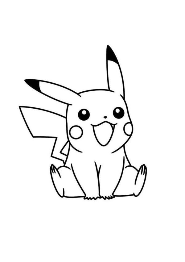 Pokémon bom para colorir