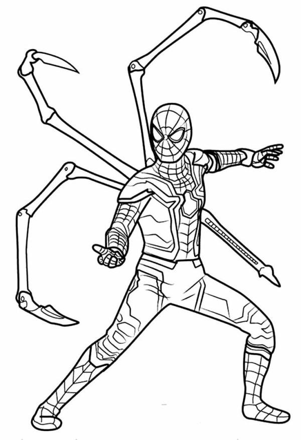 Desenhos do Homem aranha avençado