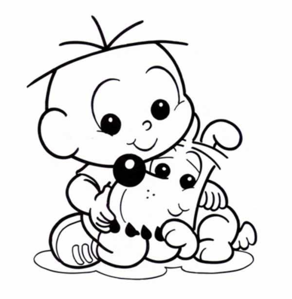 Desenho baby do cebolinha turma da Mônica