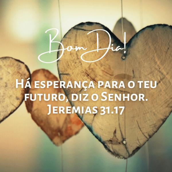 bom dia versículos bíblicos futuro