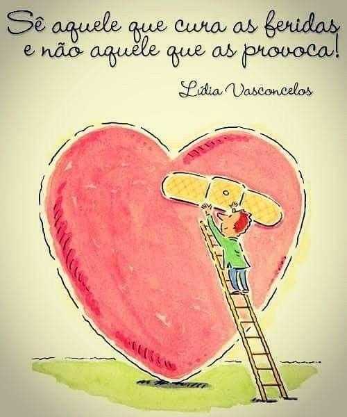 Frases carinhosas do coração