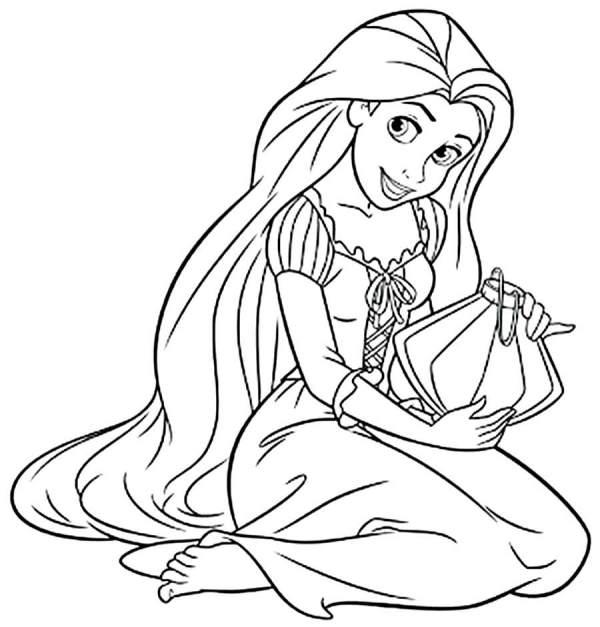 Desenhe princesas lindas