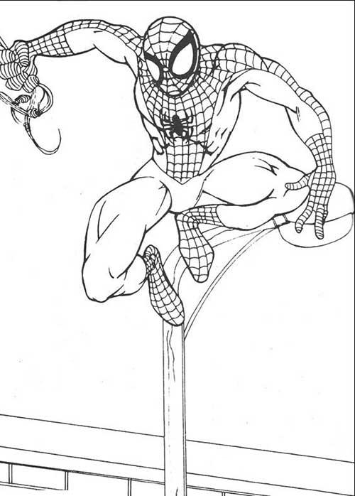Desenhos do Homem aranha para crinças