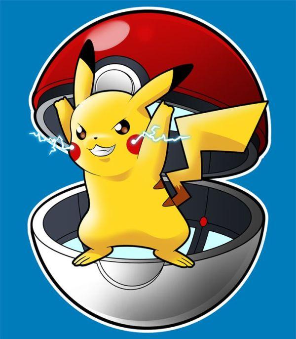 pikachu chegou sua vez Pokémon