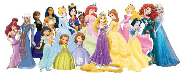 Desenhos de princesas lindas