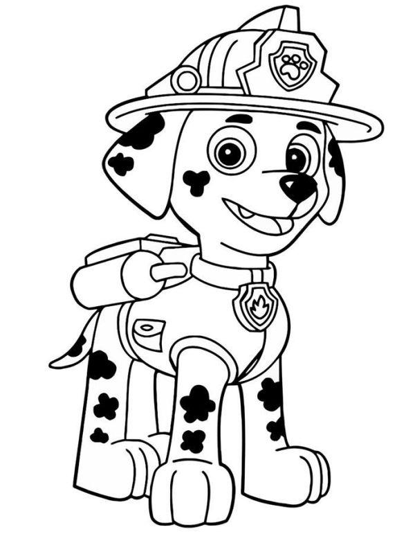 marshall Desenhos da Patrulha Canina