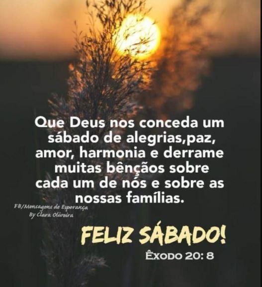 Feliz sábado bíblico