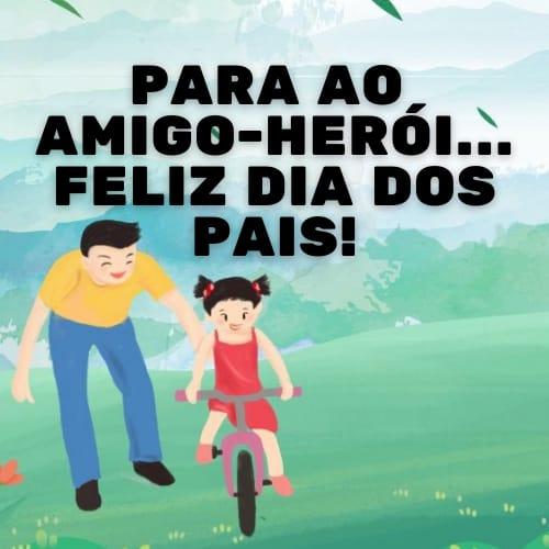 Mensagem divertida e perfeita para animar o dia dos pais