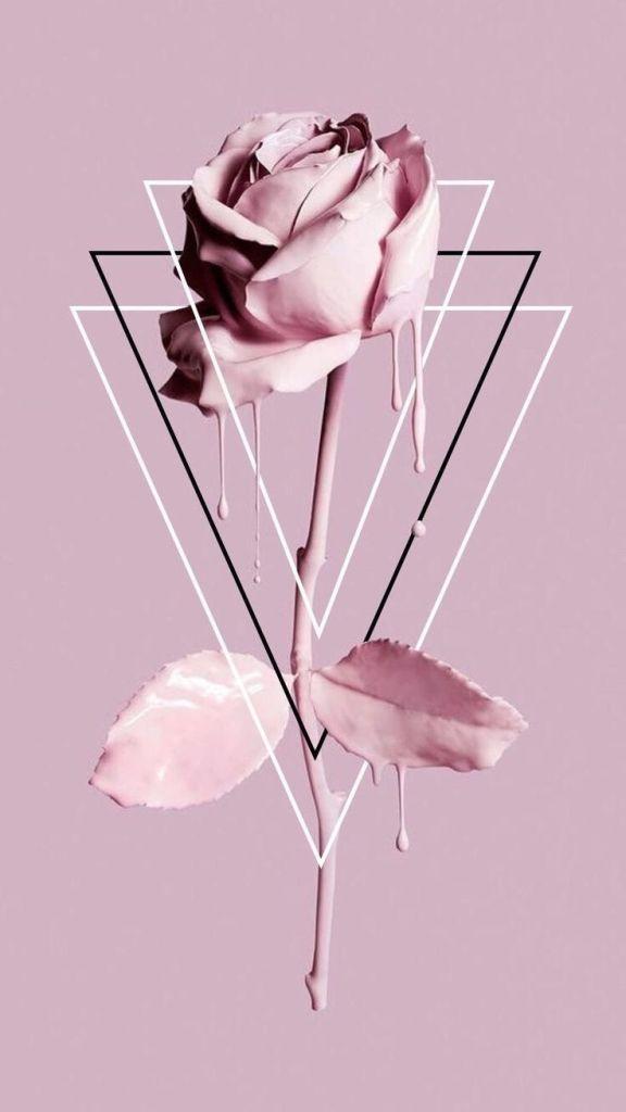 Papel de parede tumblr rosa