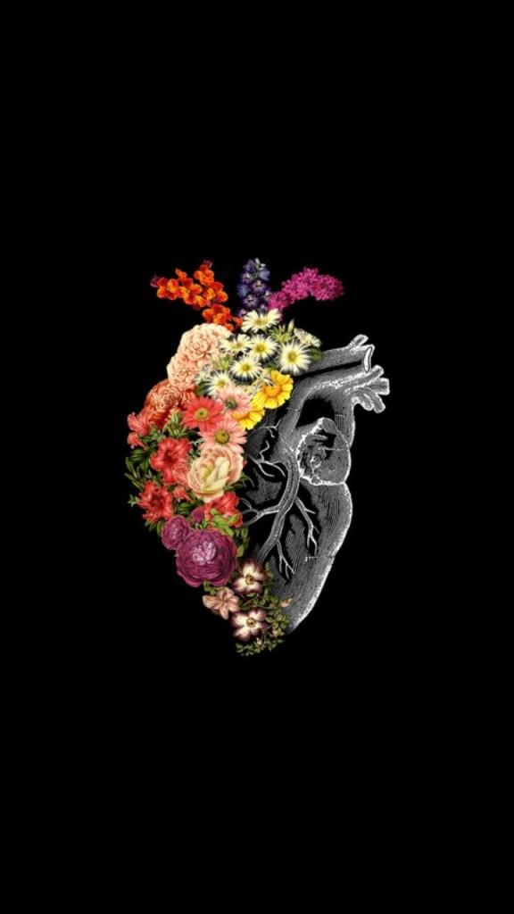 Papel de parede tumblr coração