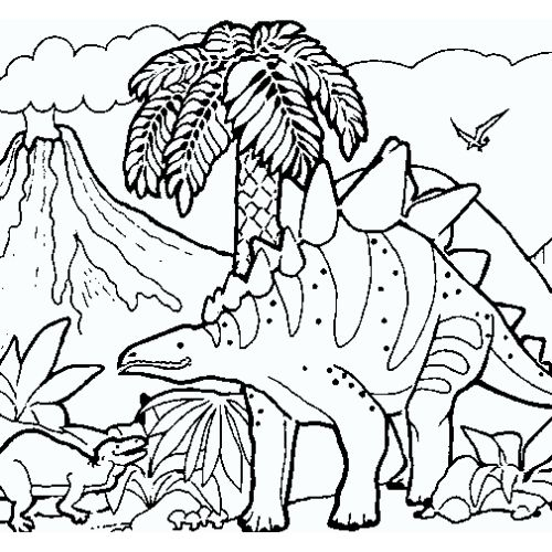dinossauros para colorir uma aventura