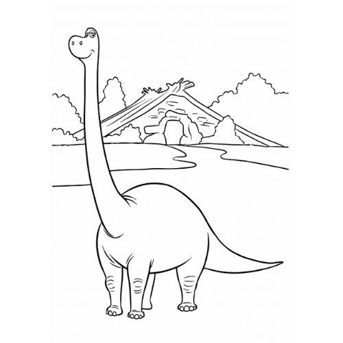 dinossauros para colorir belo