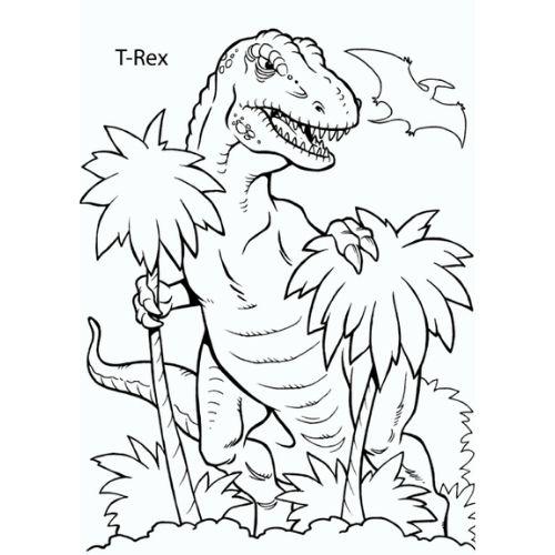 dinossauros para colorir brincando
