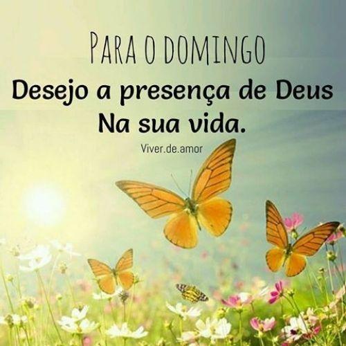 feliz domingo presente de Deus