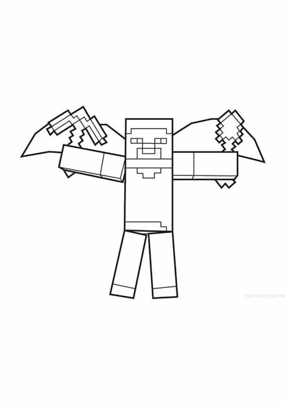 desenhos  Minecraft batman