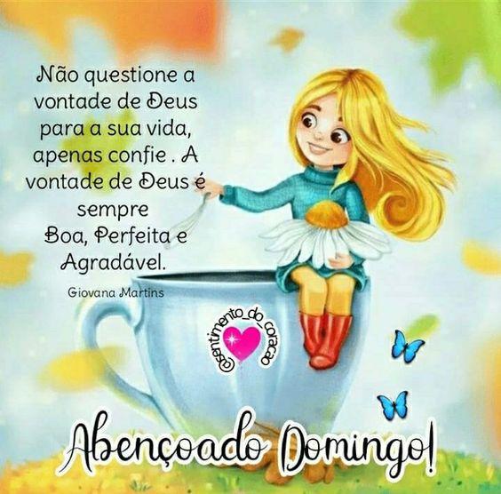 Abençoado Domingo com Deus