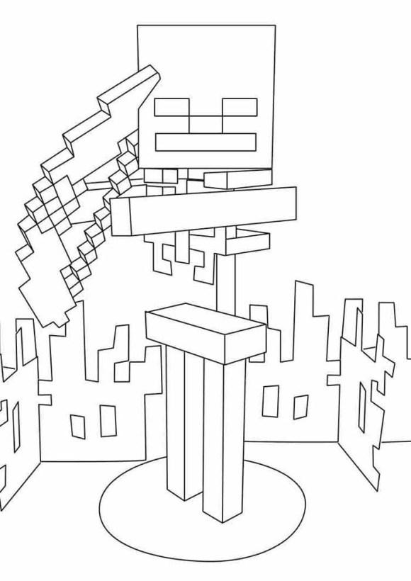 desenhos  Minecraft múmia