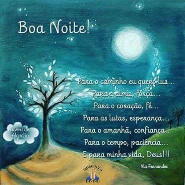 mensagem de boa noite abeçoada linda