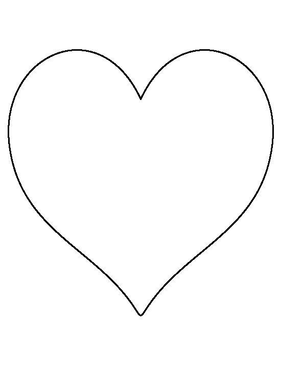 Desenhos de coração para colorir normal