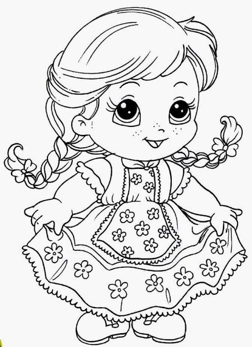 Desenhos de festa junina para colorir vestidos de quadrilha