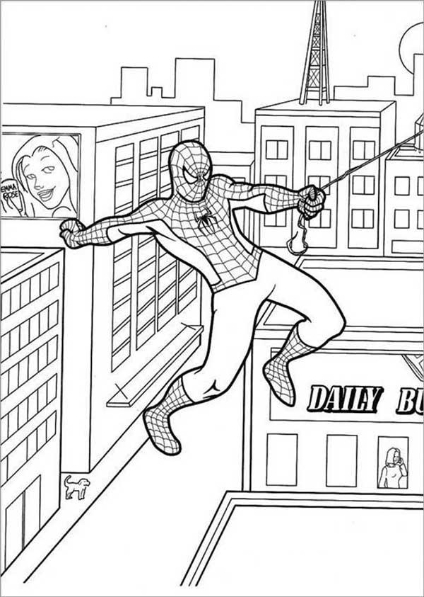 desenhos para baixar e desenhar do homem aranha