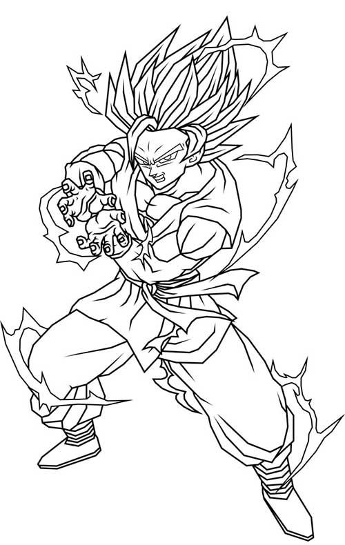 Desenhos do Goku espetacular