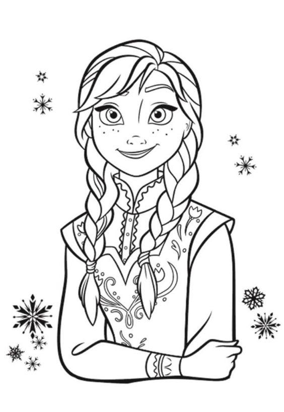 Princesa para colorir