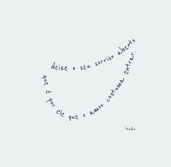 Frases Sobre Sorrisos costume