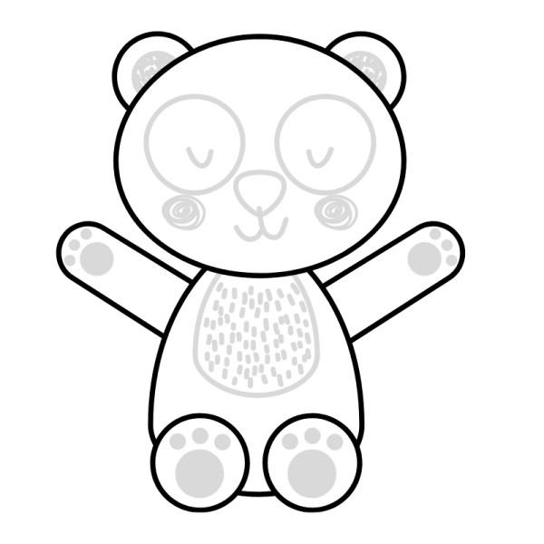 desenho panda