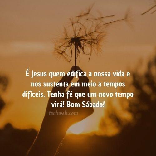 É Jesus quem edifica a nossa vida