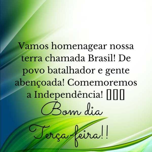 Bom dia Brasil terra do amor