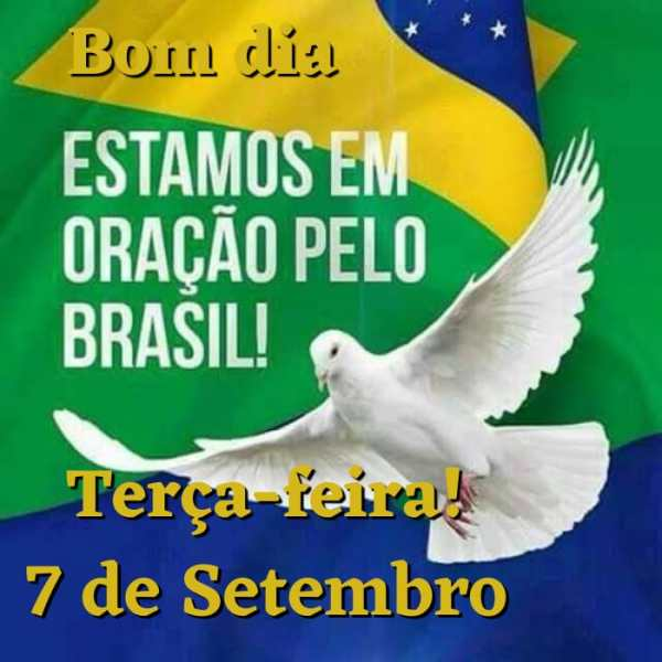 Bom dia terça-feira oração pelo Brasil