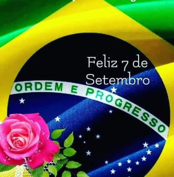 mensagem da independência do brasil